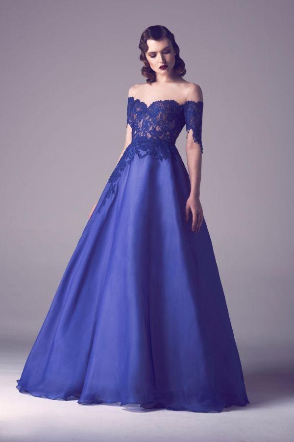 Impresionante Colección de Vestidos por Fadwa Balbaki - Primavera ...