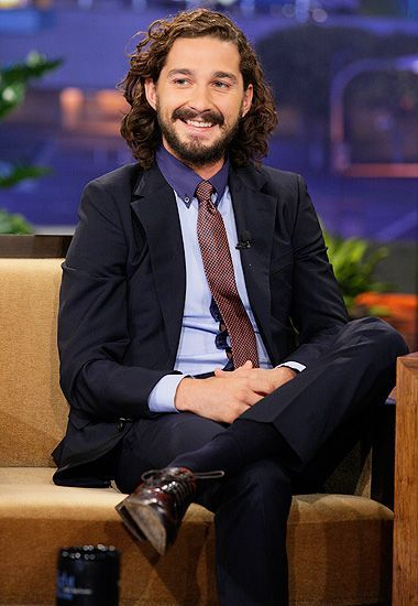 Shia Labeouf In Long Hair 6 Photos Morably Thank God For Beef