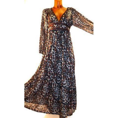 Robe longue femme boheme