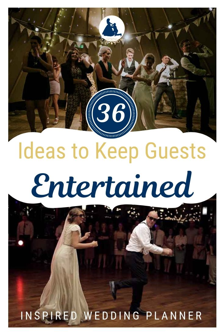 36 Surefire Ways To Keep Your Wedding Guests Entertained Wedding Games For Guests Wedding Reception Activities Wedding Reception Fun