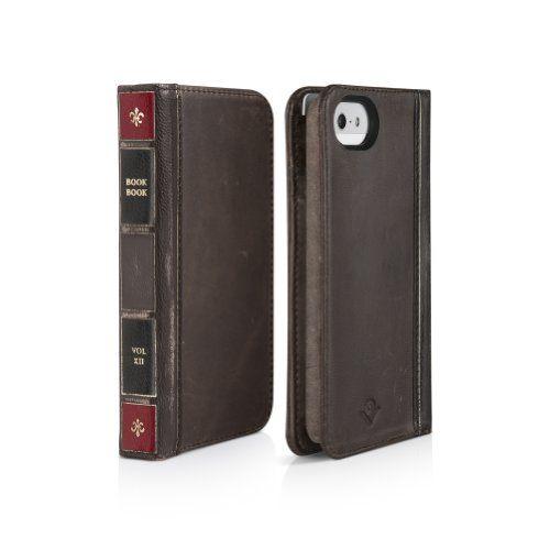 Twelve South Bookbook For Iphone 5 5s Ledger Brown