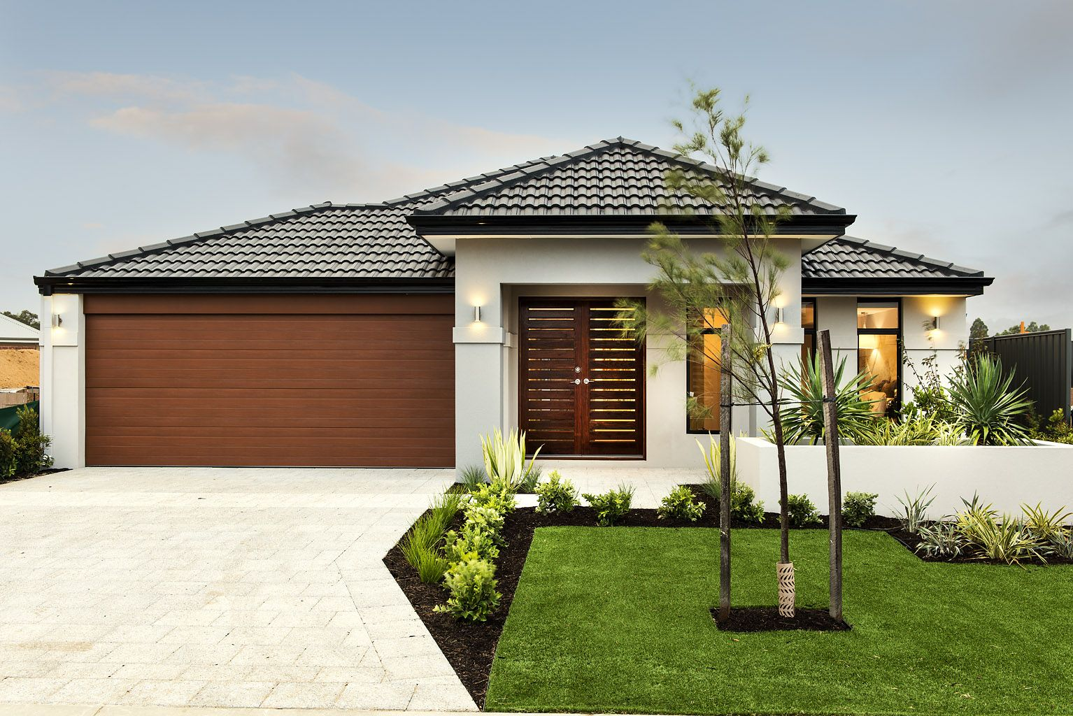 Pin Domain Homes Stand Front Elevations Casas