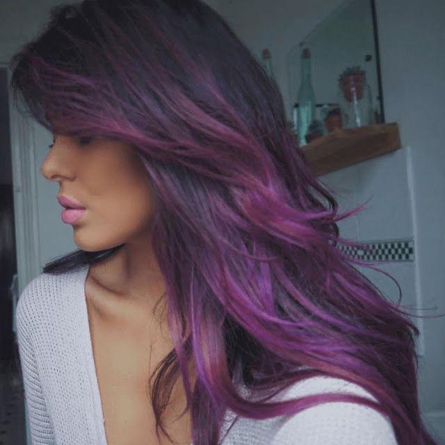 Like Dark Hair ? Then You\'ll Love This Hair Dye Ideas For Dark Hair ...