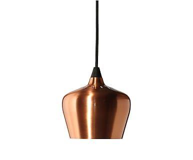 Frandsen - Hanglamp Cohen, koper/zwart, Ø 32 cm