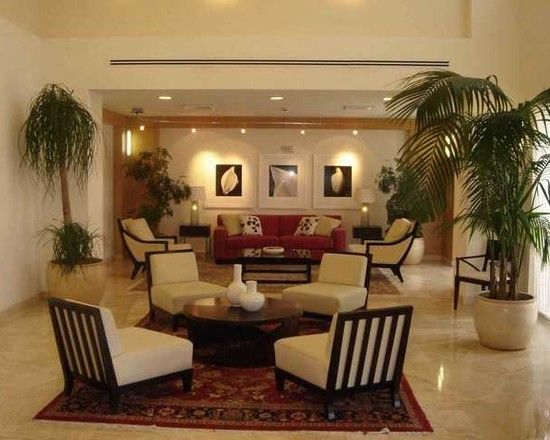 Hotel Lobby Furniture With Various Designs Contemporary