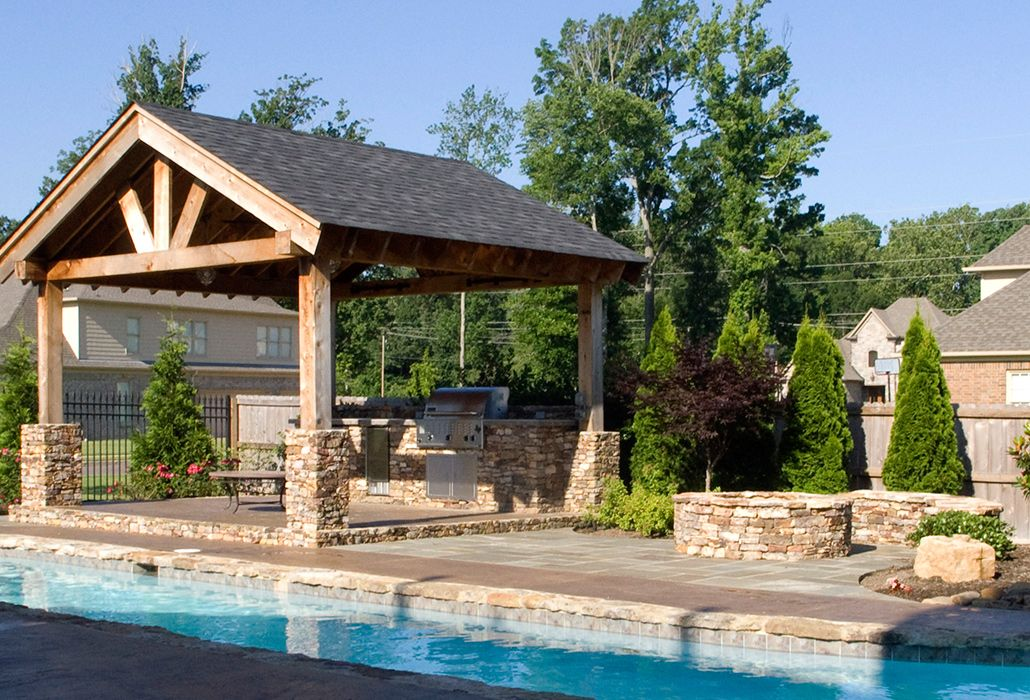 Memphis Pool Kitchen Getwell Tn Memphis Tn Outdoor Living With Images Outdoor Living Backyard Backyard Oasis