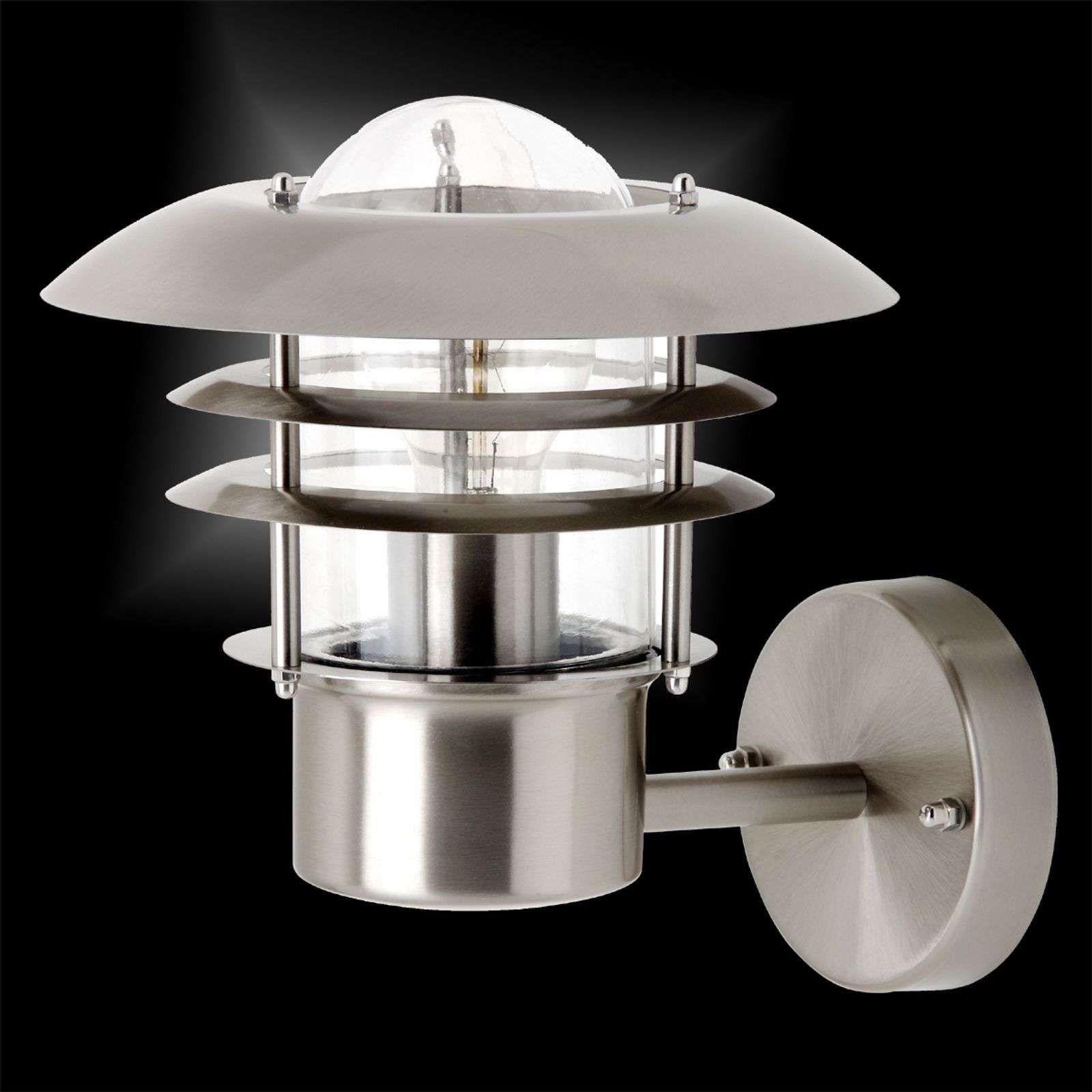 Wandlampen Buiten Karwei Wandlampe Aussen Edelstahl Wandlampe Mit Stecker Umbauen Wandlampe Holz K Buiten Wandverlichting Muurverlichting Energiebesparing