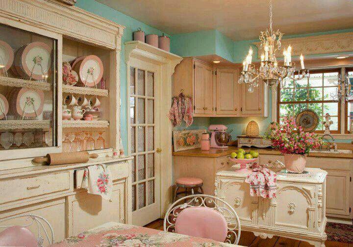 Girly Kitchen Shabby Chic Kitchen Decor Chic Kitchen Decor Shabby Chic Kitchen
