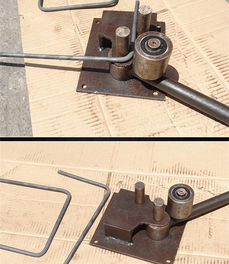 New Manual Reinforced Steel Bar Bending Tools Rebar Bender Bending Machine Construction Tools Tool Tool Steel Tools Metal Bending Tools Steel Bar Metal Bending