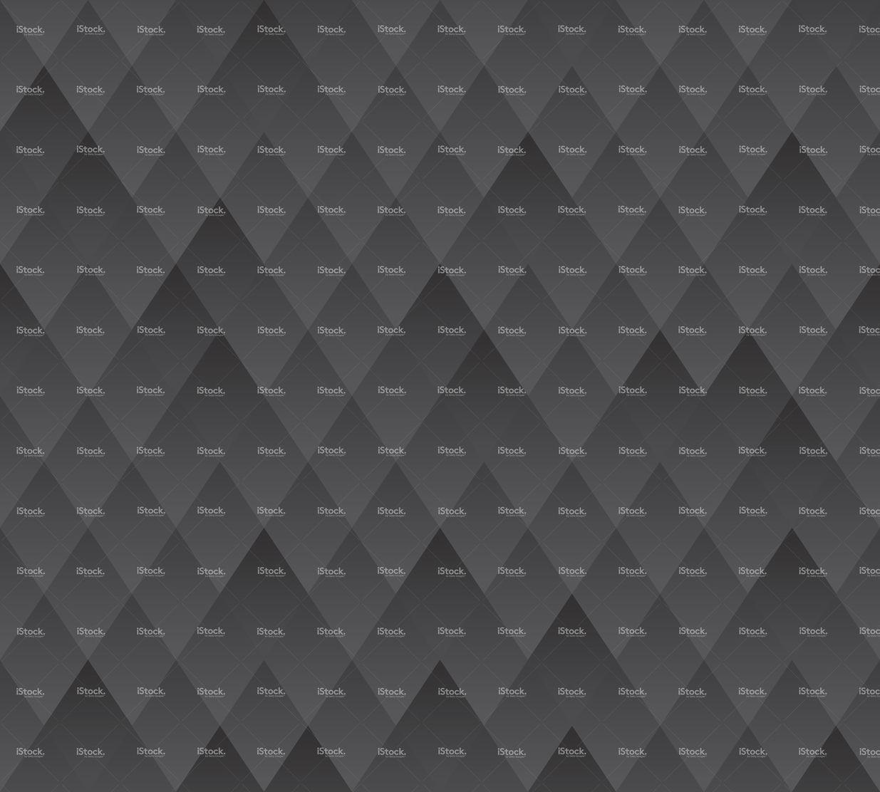 Vector Seamless Background Pattern Dark Grey Geometric Texture