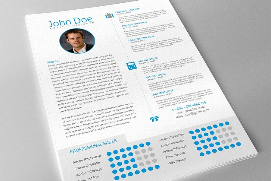clean and modern resume template for adobe indesign cs 4 or later new redesigned and updated with cover letter professional awards and profile