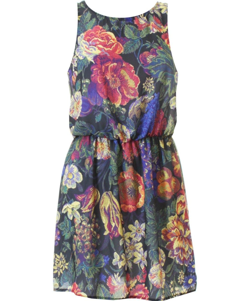 LOVE Tapestry Print Summer Dress - In Love With Fashion