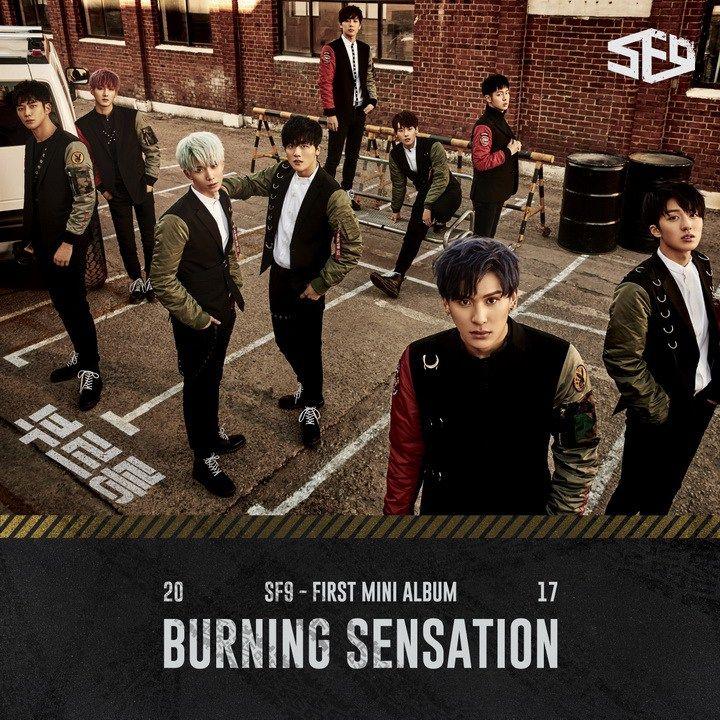 SF9 – Burning Sensation | Sf9, Boy groups, Fnc entertainment