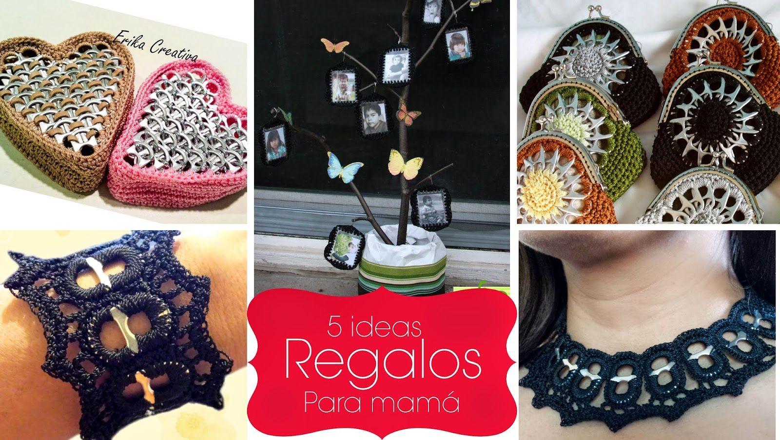 5 regalos DIY para mamá con anillas de refrescos | Pop Tabs ...