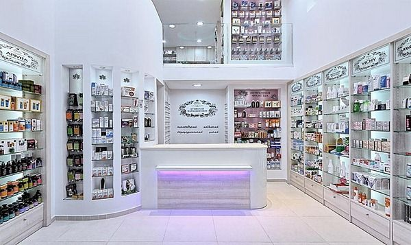 Pharmacy Design Ideas pharmacy by zouridakis architects gazi crete greece Herbalshopdisplayideas Complementary Therapies Sector Interior Design For Herbal Medicines Naturally Spiritual Shop Ideas Pinterest Herbal