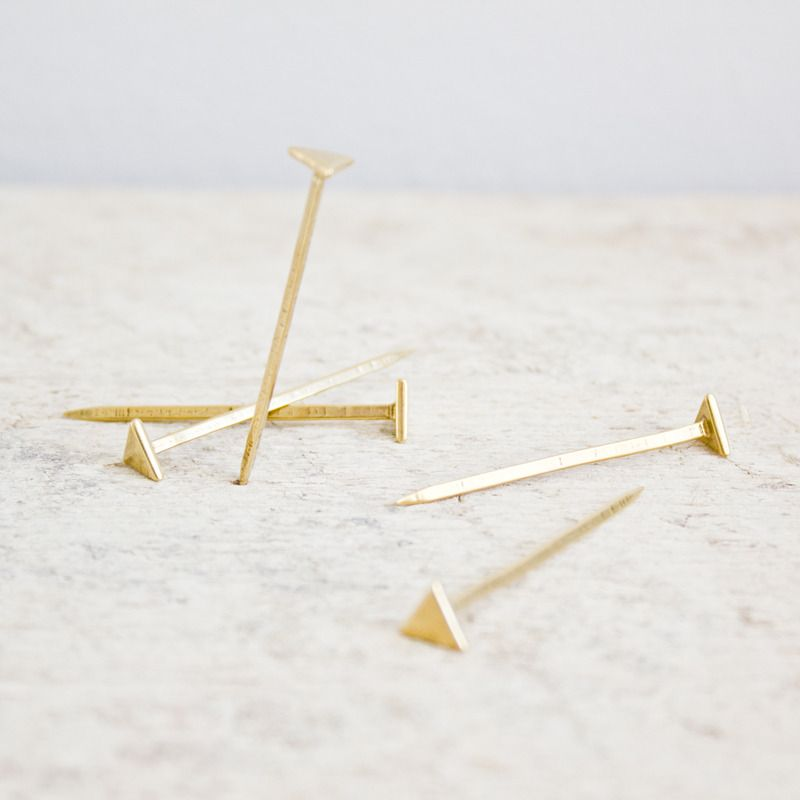 Equilateral Nails : Bronze