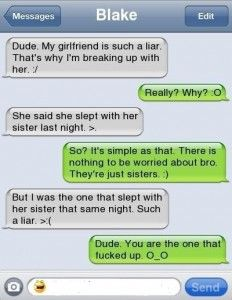 I slept with my girlfriends sister