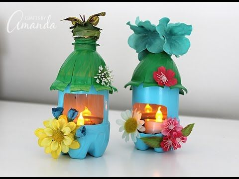 Fairy House Night Lights from Plastic Bottles: recycle ...