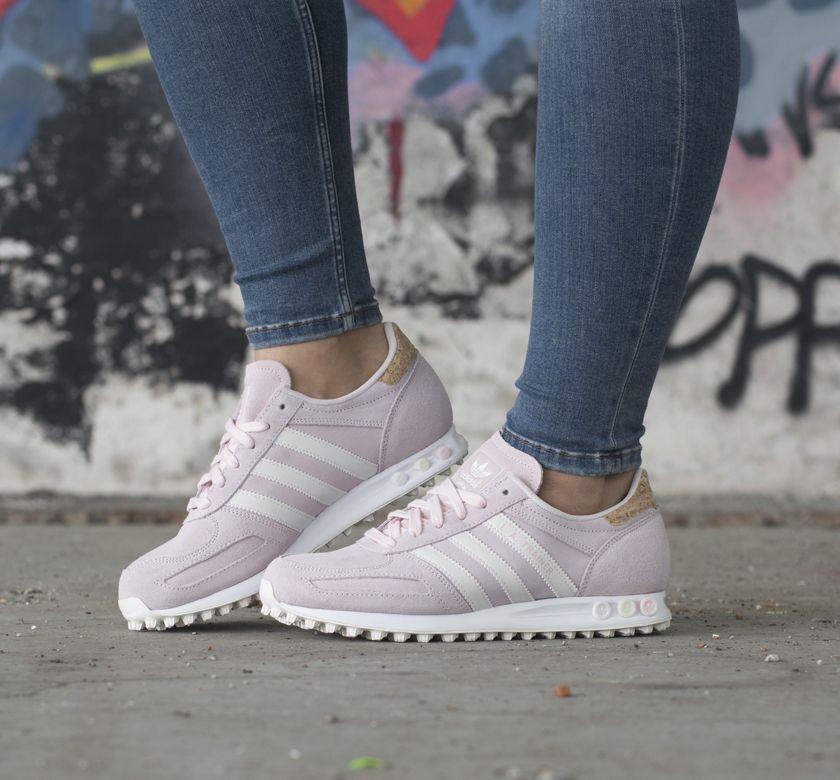 Adidas LA TRAINER W pink sneakers Schoenen sneakers