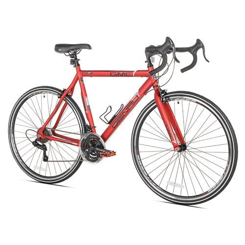 Gmc Men S Denali Medium 700c 21 Speed Road Bicycle Red Men S