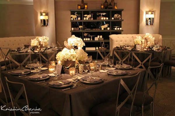 Planning, Design and Production: Kristin Banta Events; Photography: Yvette Roman #wedding
