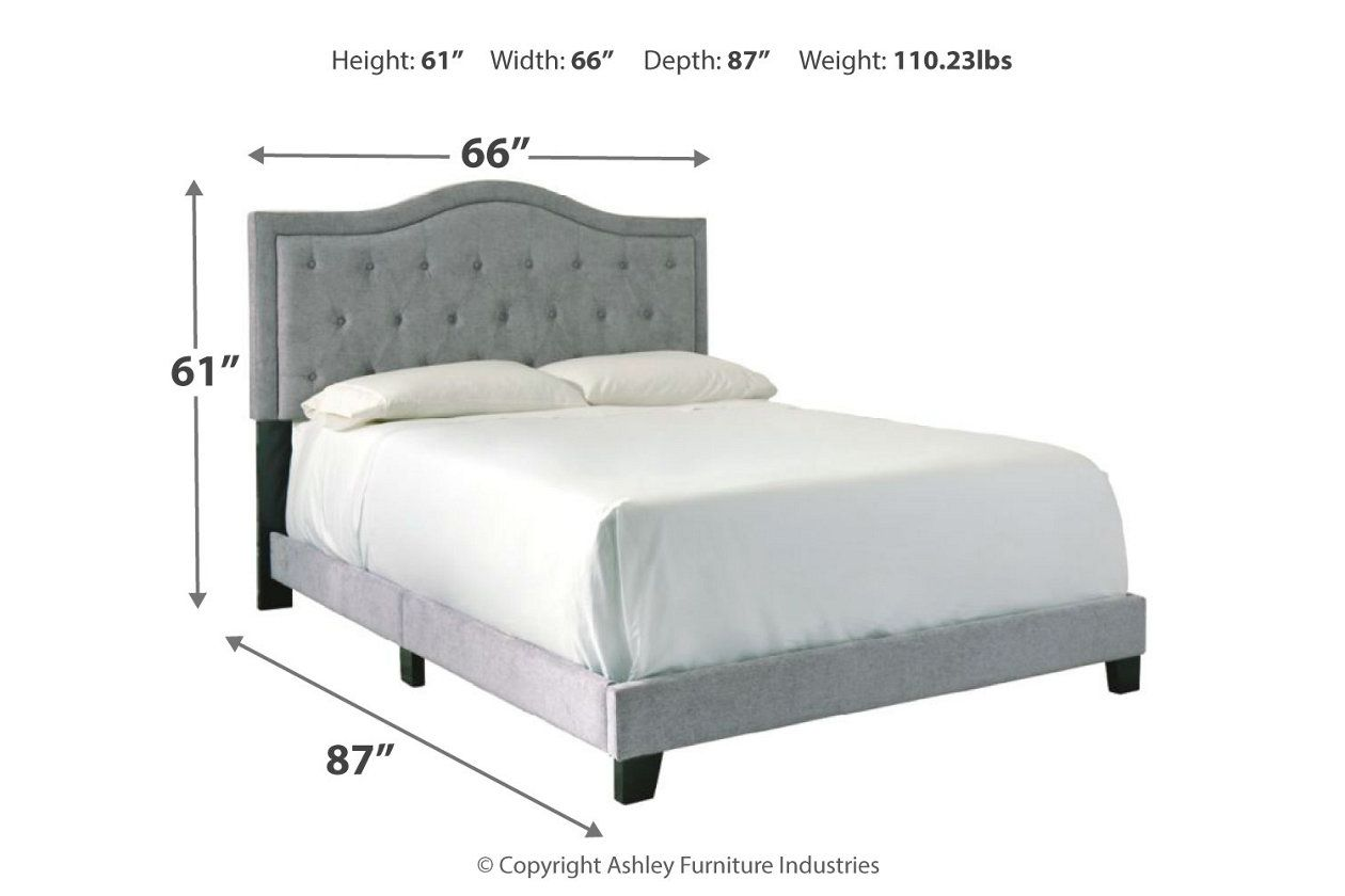 Best Jerary Queen Upholstered Bed Queen Upholstered Bed 640 x 480