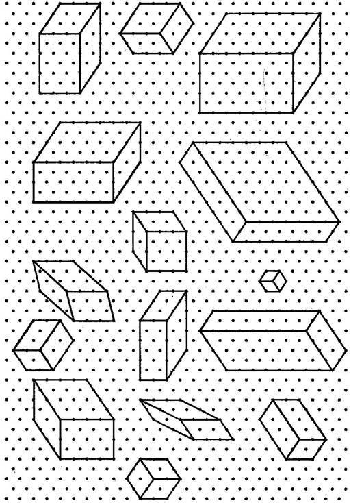 Class \u2013VII Mathematics (Ex 152) Questions 1 Use isometric dot