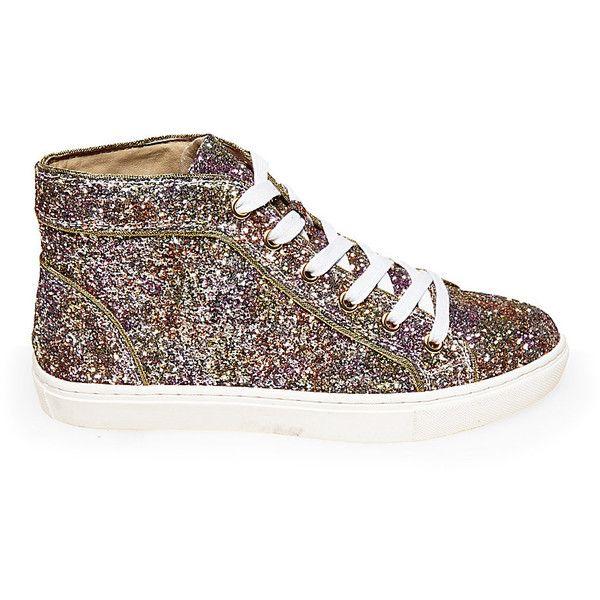 Glitter sneakers, Glitter shoes, Steve