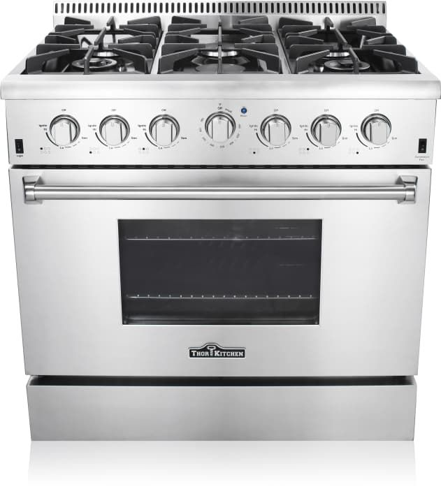 Thor Kitchen HRG3618U - Front View