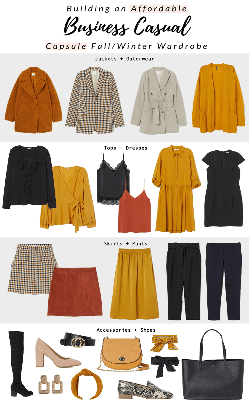 Photo of How to Create a Fall/Winter Business Casual Capsule Wardrobe