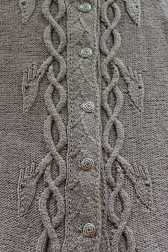Dancing Dragons Coat pattern by Heike Campbell   Strickmuster ...