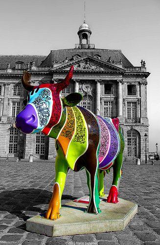 Cow Parade art exhibits around the world ~ *VünDerBar*
