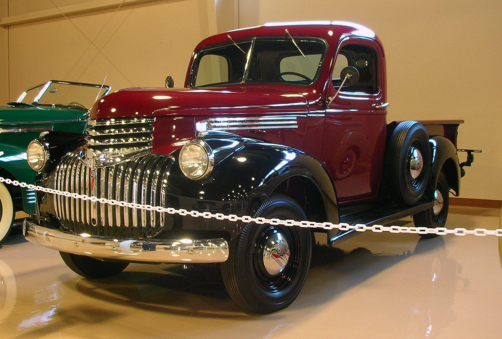 1941 chevrolet pickup truck inline 6