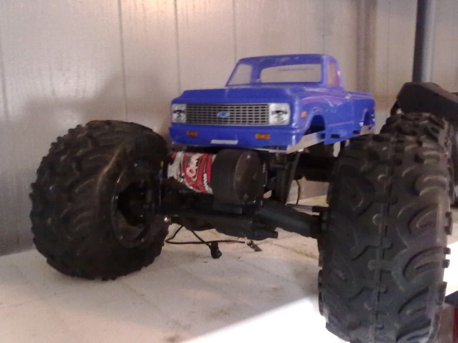 redcat rockslide 1/8 custom chassis (With images