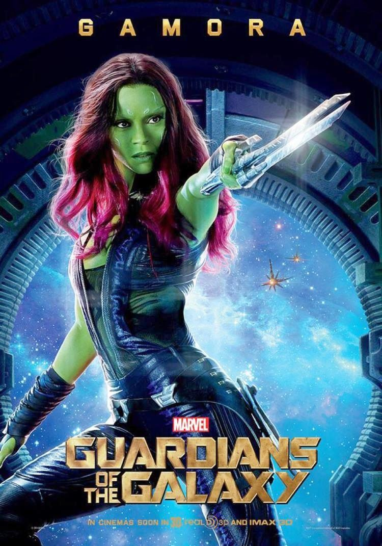 Ultimate 3d Movies Guardians Of The Galaxy 3 New Character Posters And 1 Interesting International Poster Aug 2 Galaxy Movie Guardians Of The Galaxy Gamora
