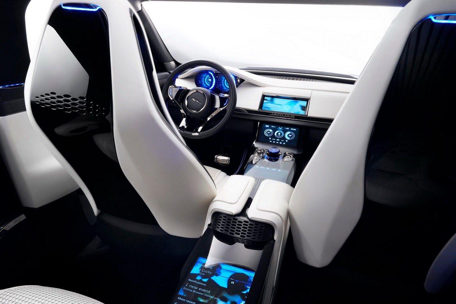 Jaguar C X17 Car Interior Design Pinterest Car Interior Design