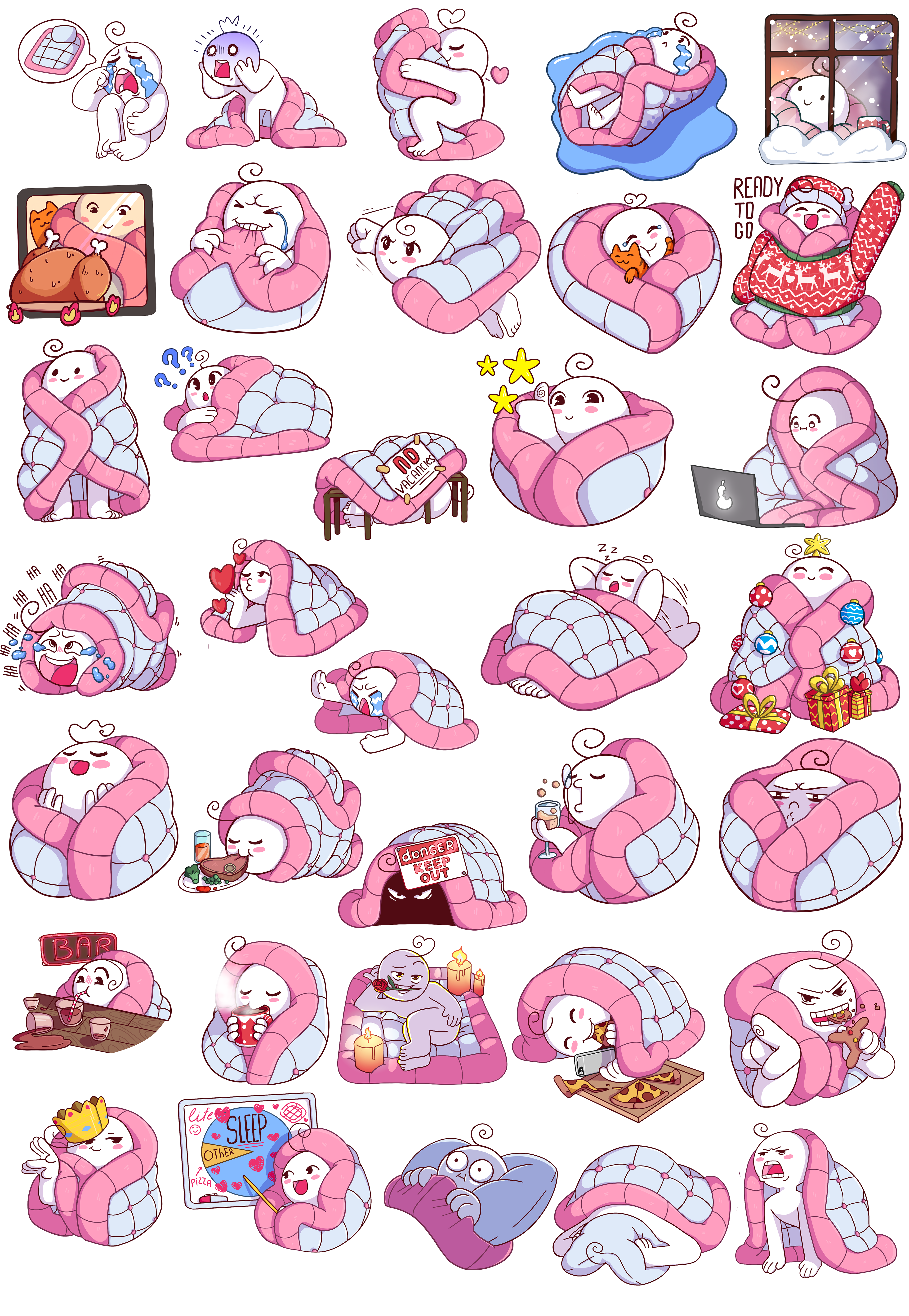 Mr Blanket Telegram Official Stickers 0 Print Pinterest