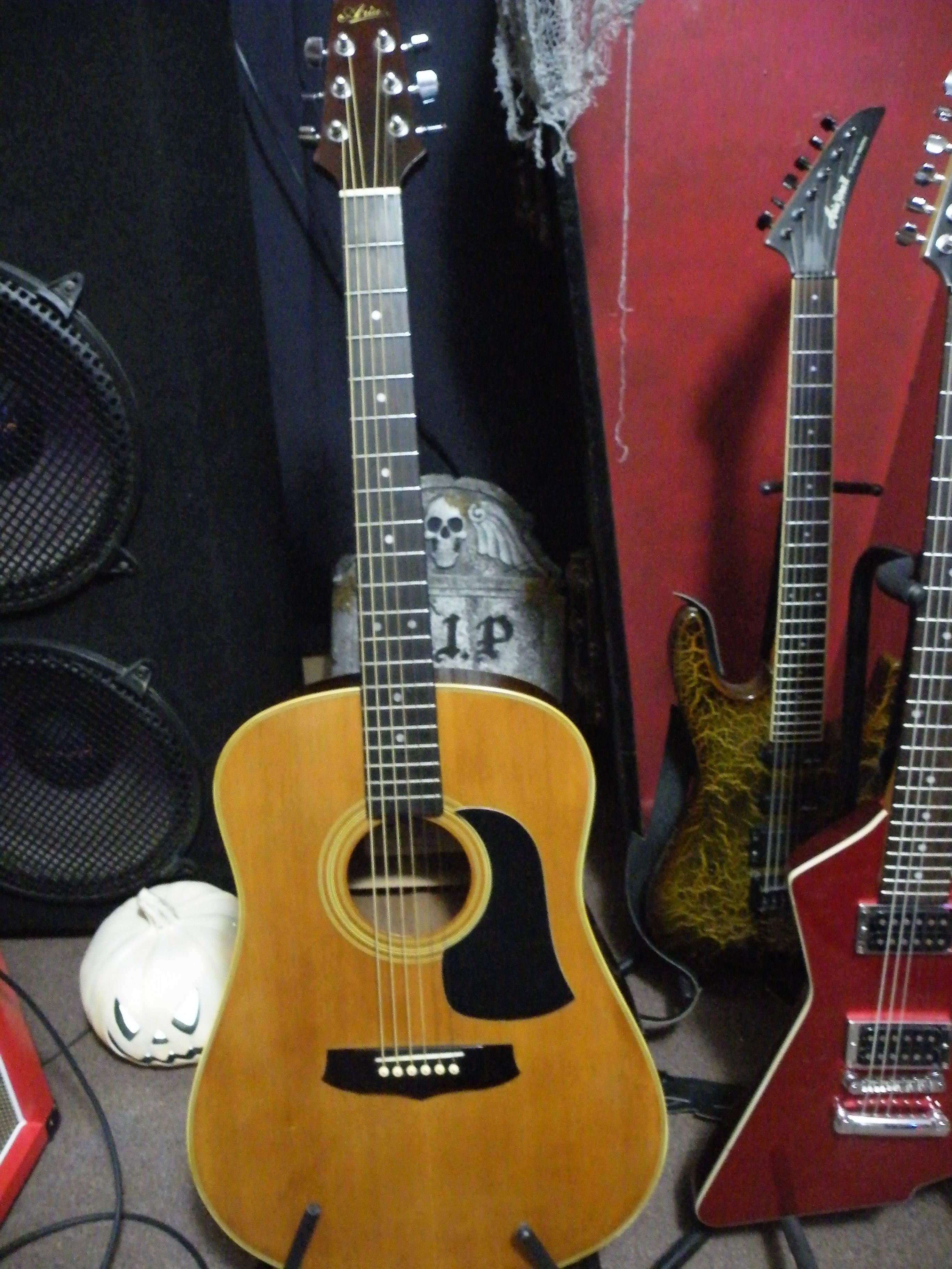 Dating Aria Pro II gitarrer