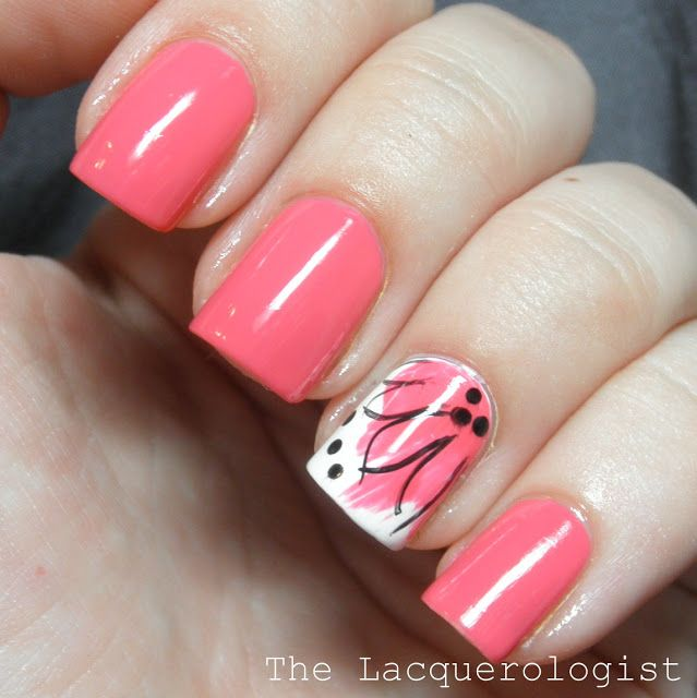 The Lacquerologist: Splash Flowers with butter LONDON and piCture pOlish! [TUTORIAL] | Fr. lacquerologist.com
