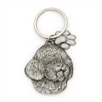 Bichon Frise Keychain Pewter: Nothing beats the exceptional look and quality of our Bichon Frise… #PetProducts #PetGifts #AnimalJewelry