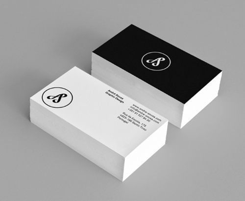 Black and white business cards design design pinterest black and white business cards design colourmoves
