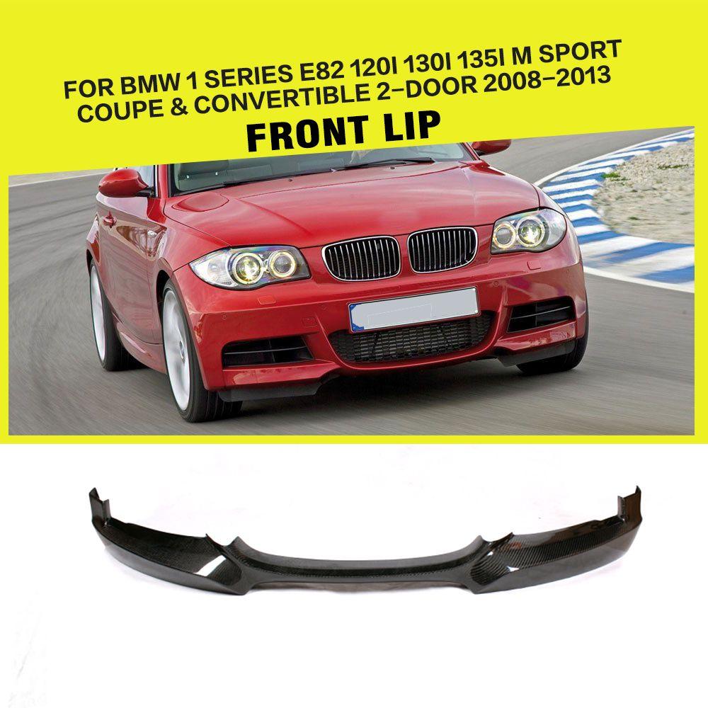 1 Series E82 Carbon Fiber Front Lip Spoiler For Bmw 1 Series E82