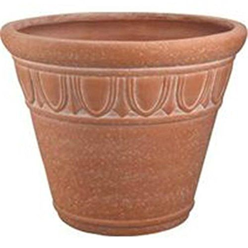 Mintcraft 16In Round Planter Terra Cotta PT020 RMG4H4E54 E4R46T32518953 -- Be sure to check out this.