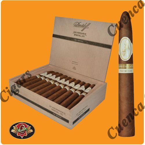 Davidoff 702 Aniversario Special T Cigars - Box of 20 - Price: $454.90