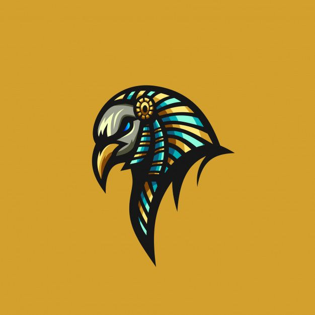 Bird Anubis Vector Premium