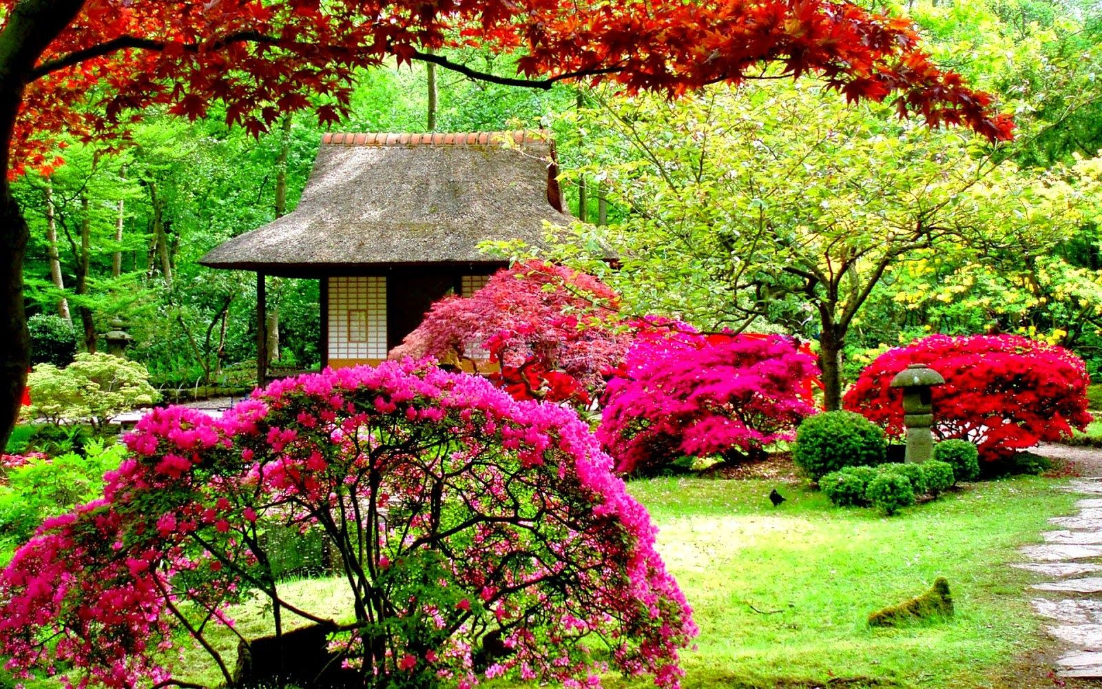 Flower Garden Wallpaper Free Download Japanese Garden Design Beautiful Flowers Garden Japanese Garden