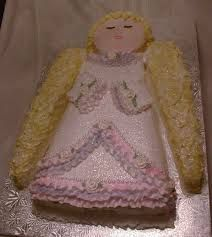 Image result for angel shaped cake Bellas Fourth Birthday