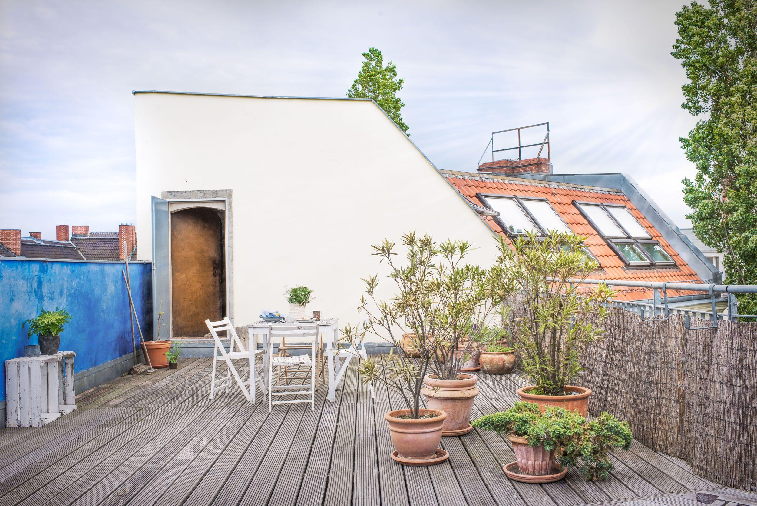 Incantevole terrazza sul tetto   Fantastic Frank   Terrazza in ...