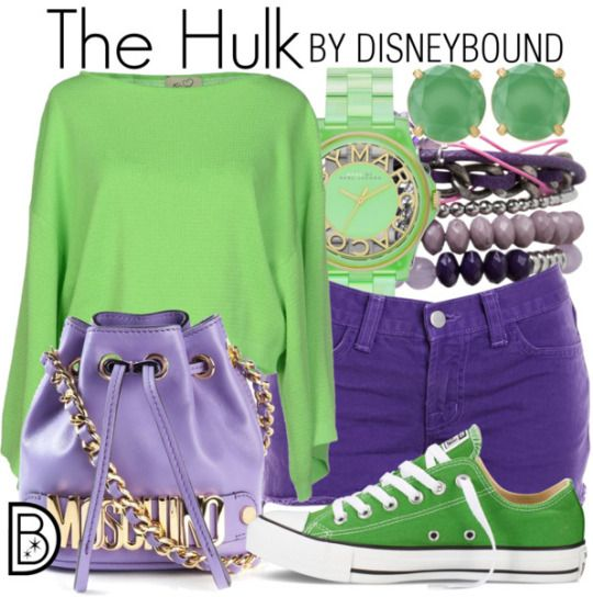 The Hulk by Disney Bound