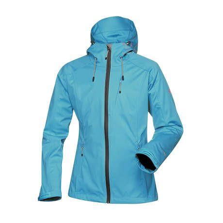Halti Nanna -sofshell-takki pitää tuulta ja soveltuu monenlaiseen ulkoiluun. (159€) #Halti #Softshell